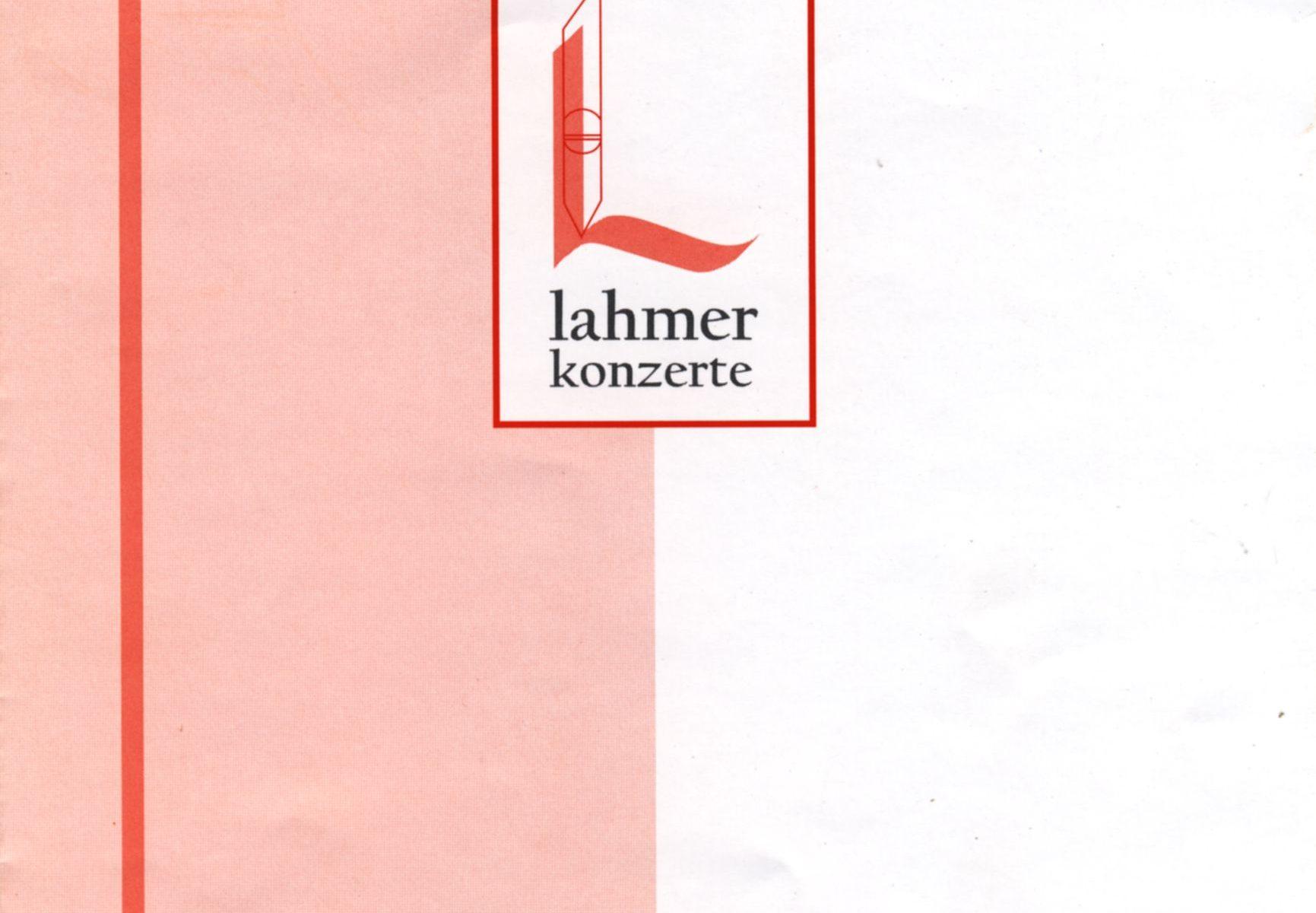 Lahmer Konzerte